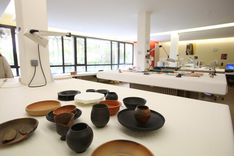 Ceramiques laboratoire Centre de conservation et d'étude